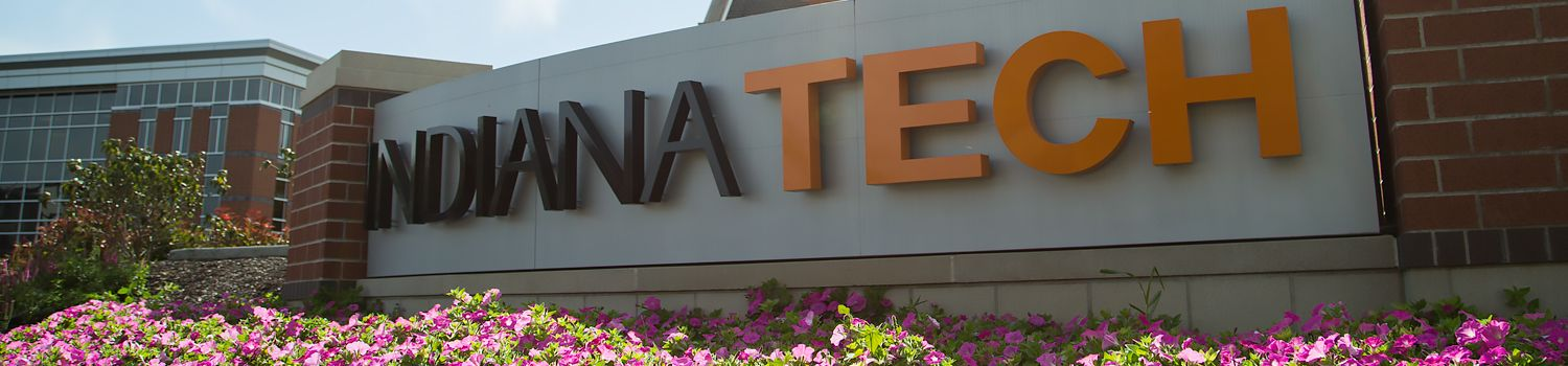 Indiana Tech Entrance Sign